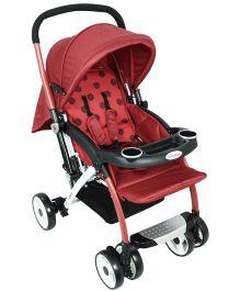 Babyoye Jingles Stroller - Red