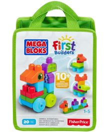 Mega Bloks First Builders Build N Learn Bags (Colors may vary)