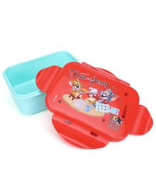 Tom And Jerry Mini Lunch Box - Blue And Red