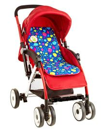Cuddle Co Stroller Liner Fruity - Red