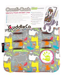 Cuddle Co Stroller Liner Jungle - Red