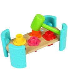 BKids Pounding Shape Bench - Multicolour