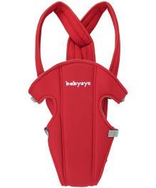 Babyoye 2 Way Basic Baby Carrier - Red