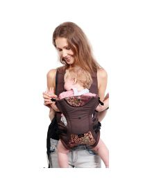 Tollyjolly 3 In 1 Baby Carrier - Brown