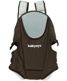 Babyoye 3 Way Comfort Baby Carrier - Brown