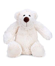 Play N Pets Animal Soft Toy White - 30 cm