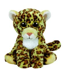 Ty Toy Spotty Leopard Soft Toy Brown Yellow - 15 cm