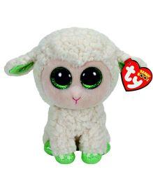 Ty Toy Lamb Soft Toy - White