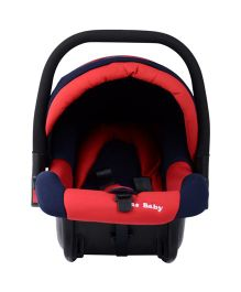 Carry Cot Cum Carseat - Red
