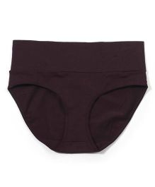 Kriti Comfort Fold Over Panty - Brown