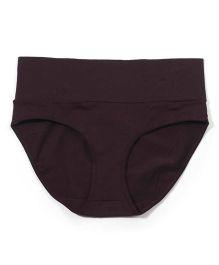 Kriti Comfort Fold Over Panty - Brown
