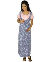 Kriti Comfort Night Wear  - Multi Colour