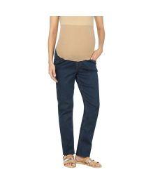 Kriti Western Maternity Full Length Jeans - Blue