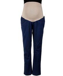 Kriti Maternity Slim Fit Jeans - Dark Blue