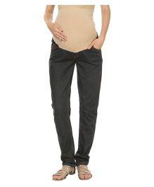 Kriti Western Maternity Jeans - Grey