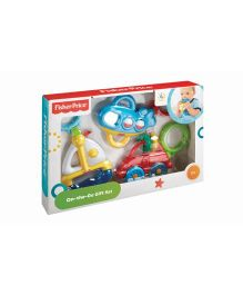 Fisher Price Vehicles Teether Peg Gift Set - Multicolor