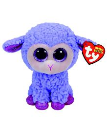 Ty Toy Lamb Soft Toy - Purple