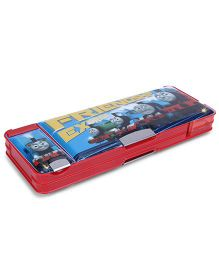 Thomas & Friends Magnetic Pencil Box With Side Compartment - Red