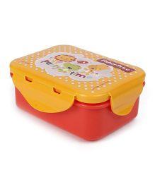 Fisher Price Mini Lunch Box - Orange Yellow