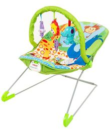 Babyoye Animal Paradise Playtime Bouncer - Multicolor