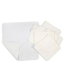 Baby Pure Muslin Square Nappy Pack Of 24 - White