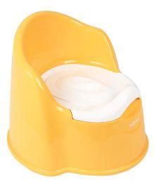Babyoye Sit Up Potty Chair - Yellow