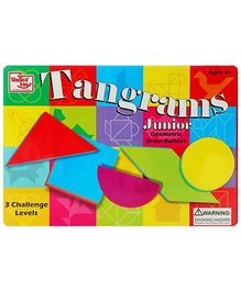 United Toys - Tangram Junior Geometric Brain Builder