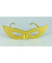 Funcart Eye Mask Party Eye Glasses - Golden