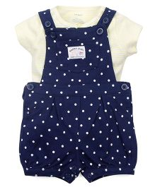 Carter's 2-Piece Tee & Shortalls Set - Navy