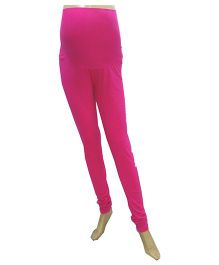 Uzazi Maternity Stretchable Leggings - Pink