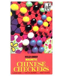 United Toys Fold Away Magnetic Chinese Checkers