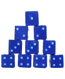 United Toys Dice Set Pack Of 12 - Blue