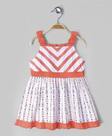 Babyoye Singlet Dress - White