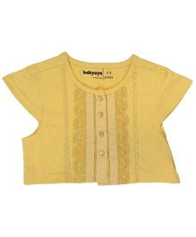 Babyoye Short Sleeves Shrug - Yellow
