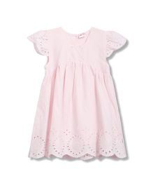 FS Mini Klub Short Sleeves Dress - Pink
