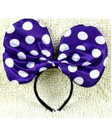 Funcart Jumbo Minnie Hairband - Purple