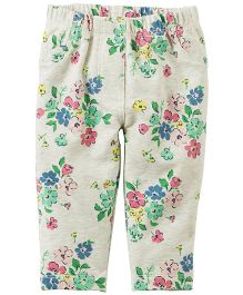 Carter's Floral French Terry Pants
