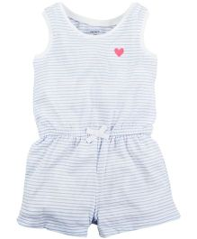 Carter's Applique Bodysuit - Light Blue