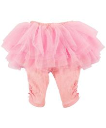 Babyoye Tutu Skirt With Attached Leggings - Pink