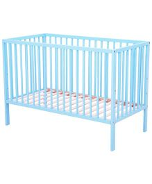 Cots&More Alton Infant Cot -Blue