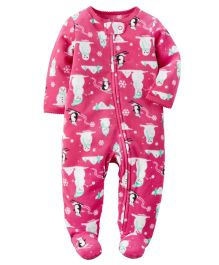 Carter's Fleece Zip-Up Sleep & Play