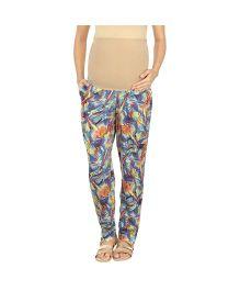 Kriti Western Maternity Lounge Pant - Multicolor