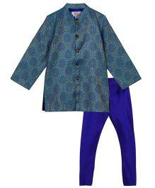 Kriti Designer Kurta Pajama Set - Blue