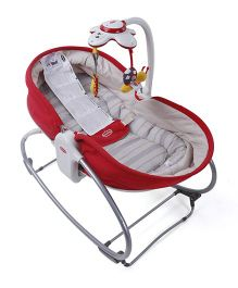 Tiny Love 3 In 1 Rocker Napper Red - ANFPNR1113121