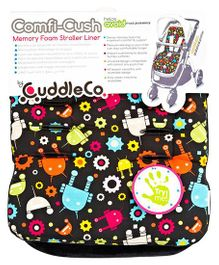 Cuddles Co Stroller Liner Robots - Red