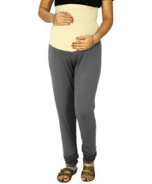 Kriti Ethnic Maternity Knit Legging - Grey