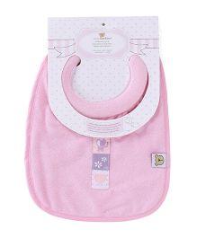 Honey Bunny Milk Feeding Bib - Pink
