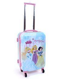 Disney Magnificent Beauty Push Trolley Blue Pink - 24 Inches