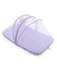 M&M Baby Bedding Set With Mosquito Net - Purple