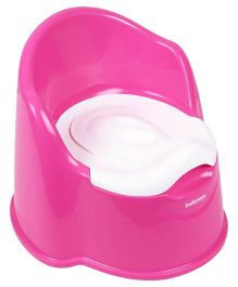 Babyoye Sit Up Potty Chair - Pink